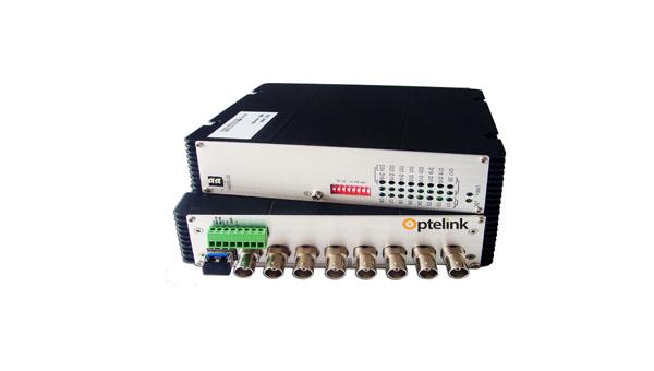 8V Optical Multiplexer-Industrial Switch|E1 Converter|Ethernet